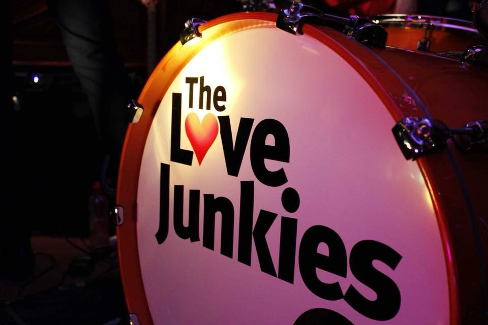 the-love-junkies-drum-head